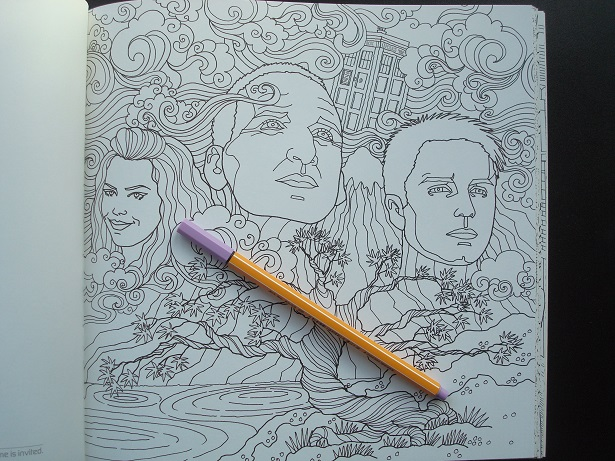 Doctor Who Travels In Time Colouring Book 13