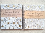 Johanna Basford 2017-18 Weekly Colouring Planner - a great combination of colouring and organisation, click through to read my review and see images of inside